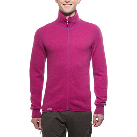 Woolpower 400 Colour Collection Chaqueta con cremallera completa, cherise/purple
